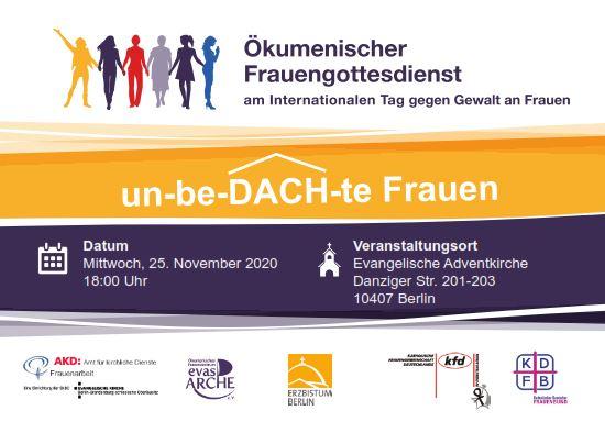 Ökumenischer Frauengottesdienst am Internationalen Aktionstag gegen Gewalt an Frauen
