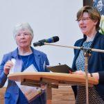 Bericht Ökumenisches Frauengottesdienstteam kathFrauengemenschaft Plümpe und landeskirchl Pfarrerin für Frauenarbeit Möbius