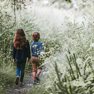 Mit Gott im Grünen – Gottesdienste in der Natur mit Kindern feiern