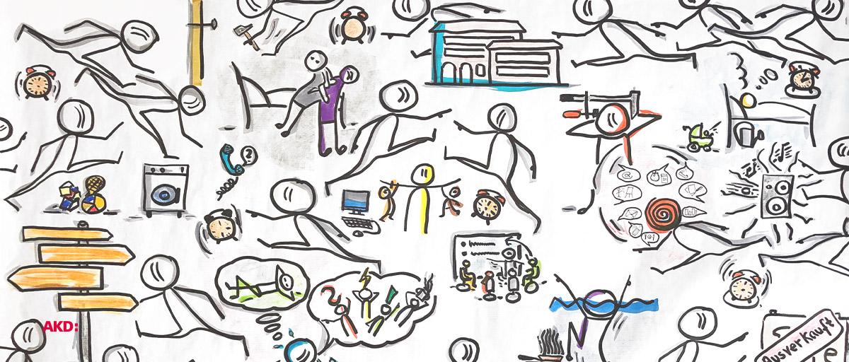 Wirklichkeiten neu begegnen – Andacht mit Präsentation des neuen Arbeitsberichtes – digital
