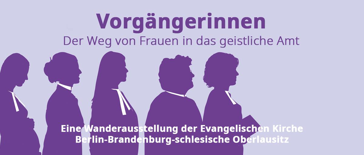 """Ausstellungseröffnung """"VORGÄNGERINNEN. Der Weg von Frauen in das geistliche Amt."""""""
