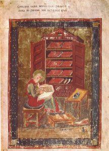 Codex Amiatinus, 700 n. Chr. (gemeinfrei)