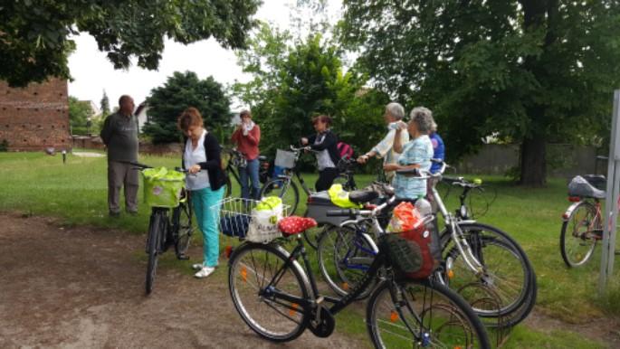 Frauen-Fahrrad-Pilgertag Kirchenkreis Cottbus