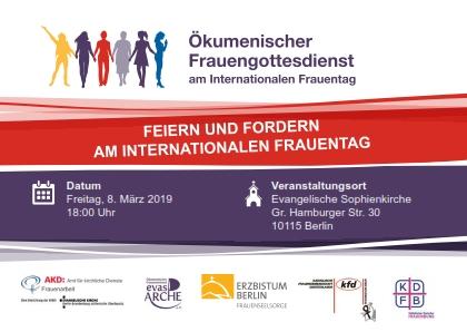 Ökumenischer Frauengottesdienst am Internationalen Frauentag