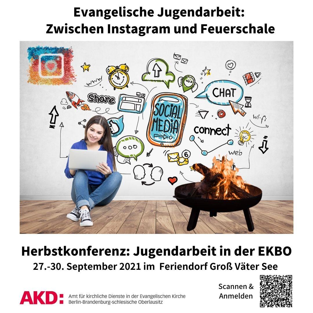 Herbsttagung der Konferenz für die Jugendarbeit 2021