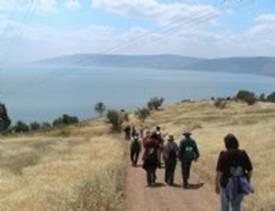 Spiritueller, aktuell politischer Wanderbildungsurlaub in Israel