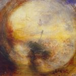 Joseph Mallord William Turner (1775-1851), Light and Colour (Goethe's Theory) – The Morning after the Deluge – Moses Writing the Book of Genesis, 1843 Öl auf Leinwand, 78,5 x 78,5 cm, Sammlung The Tate Gallery, London, ® J. M. W. Turner / public domain