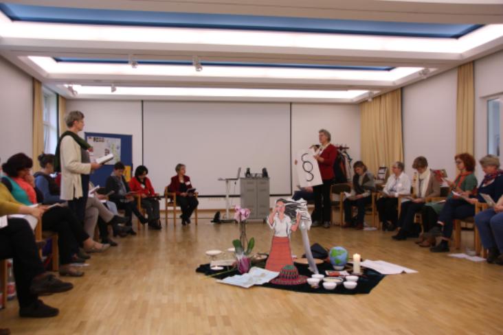 Liturgische Präsenz in Weltgebetstags- und Mirjamgottesdiensten