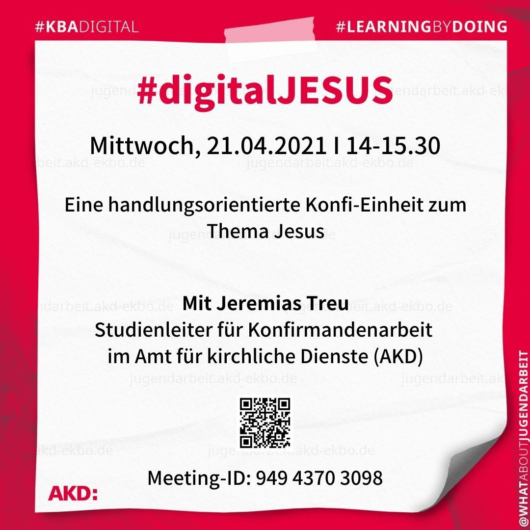 #digitalJESUS #learningbydoing #kbadigital