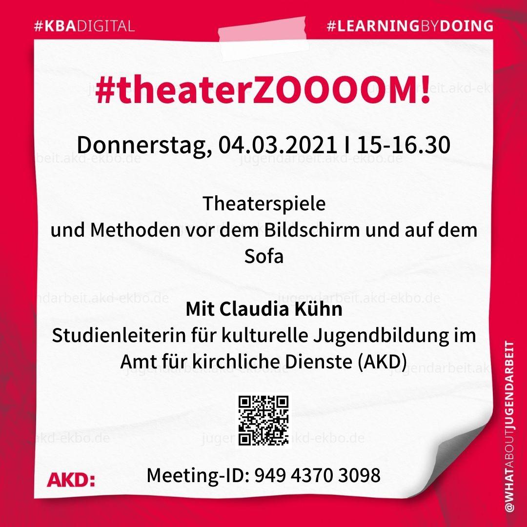 #theaterZOOOOM! #learningbydoing #kbadigital